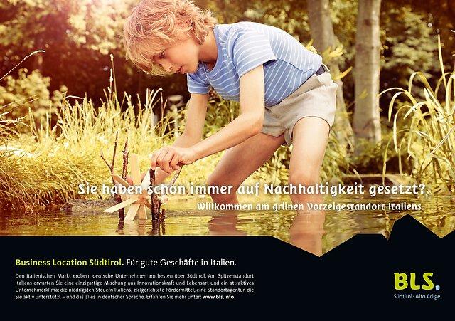 BLS Kampagne Wasserrad