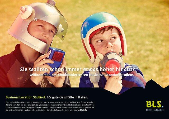 BLS Kampagne Astronauten