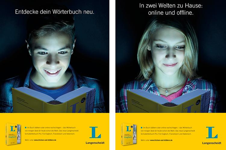 Langenscheidt Kampagne