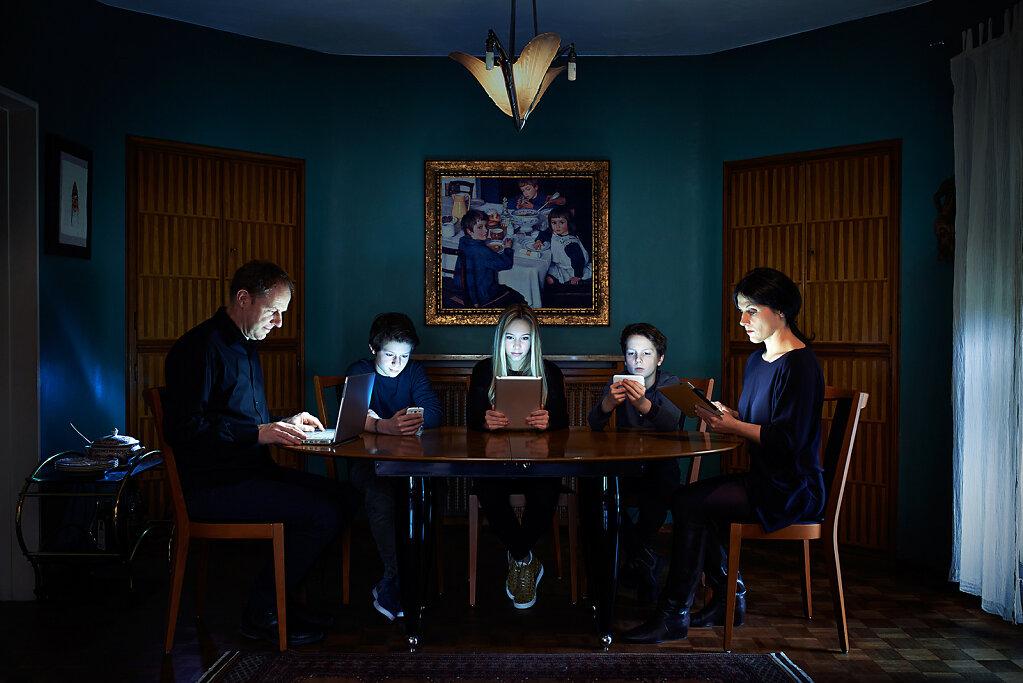 Abendmahl-Gemeinsam einsam